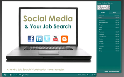 social media and job searching